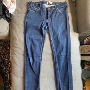 Acne Kex Soft Raw Blue Jeans 29/32